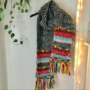 Zara Knit Chunky Scarf